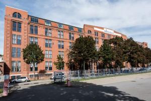 Außenansicht des neuen Gebäudes in Chemnitz